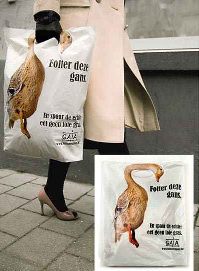 Duck Shopping Bag Design