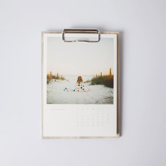 custom clipboard calendar