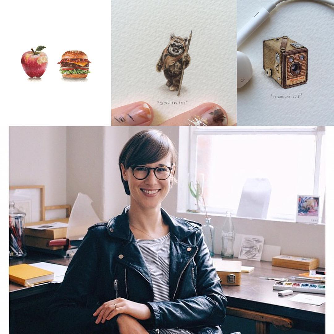 lorraine loots extremely talented miniaturist painter