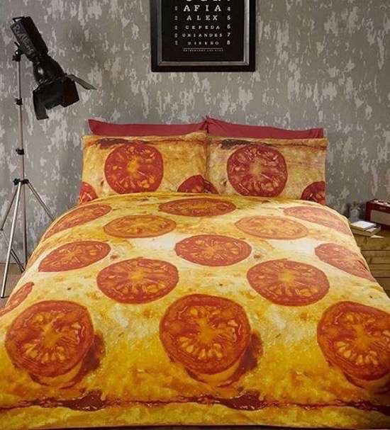 Pizza Bed Spread