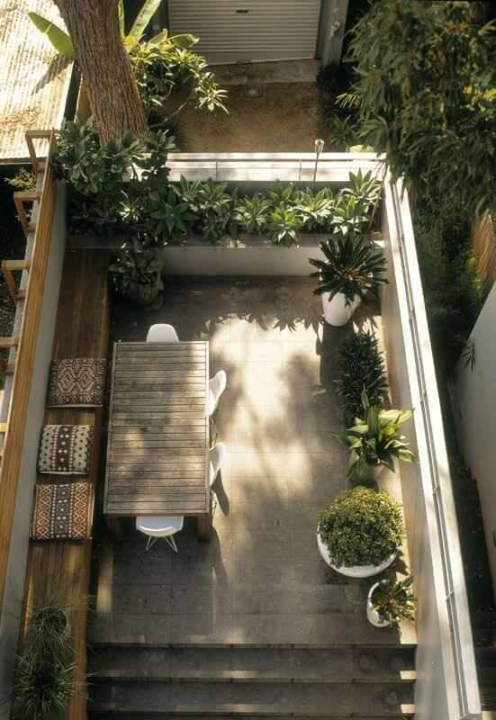 garden design with amazing design ideas for small backyards with gardening design from designinspirationcom - Narrow Backyard Design Ideas