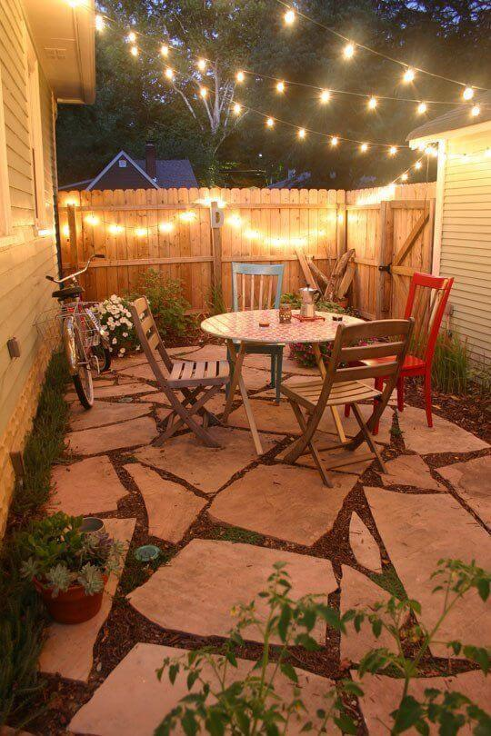 Stunning Design Ideas For Small Backyards Gallery - Home Design ...