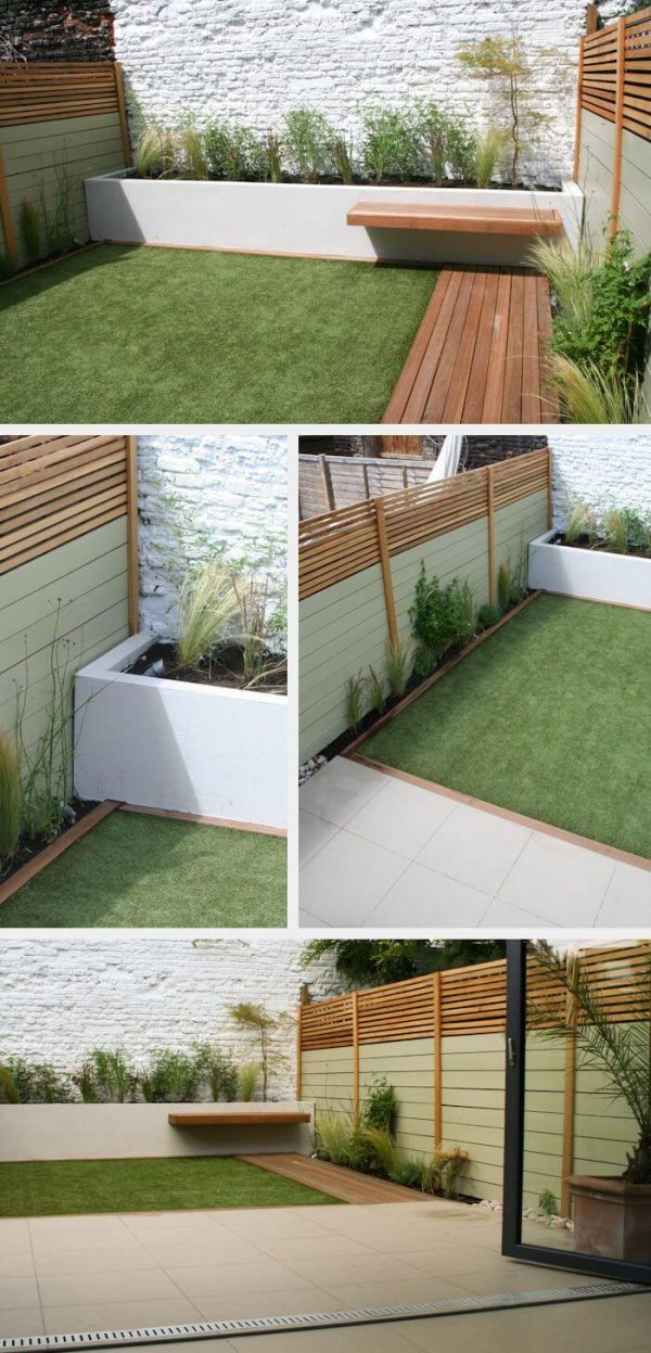 40 amazing design ideas for small backyards - Small backyard landscape designs ...