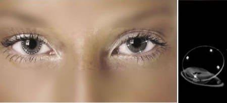 crystal lenses