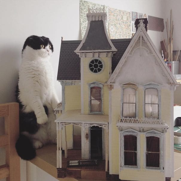 Corporate Lawyer Quits Job To Create Stunning Miniatures