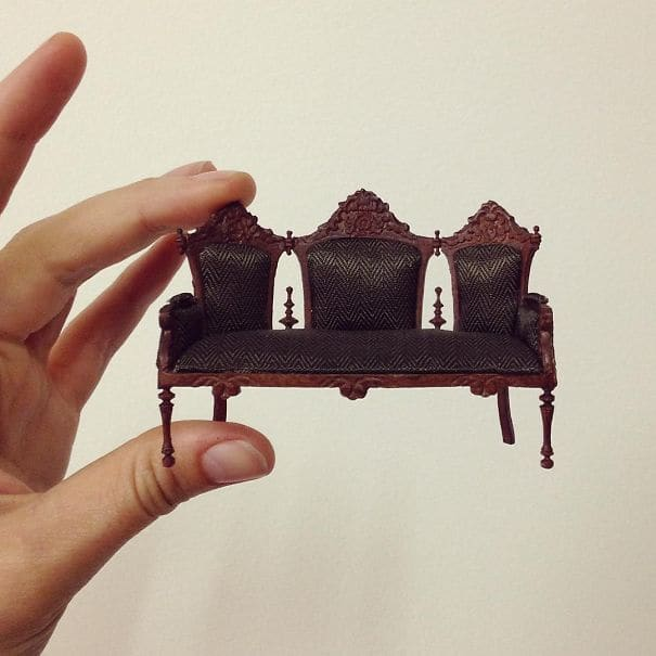 tiny couch