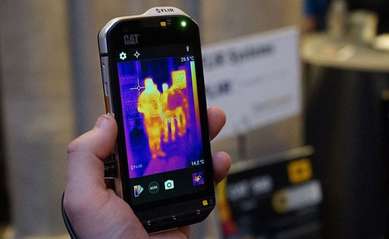 Thermal Imaging smartphone