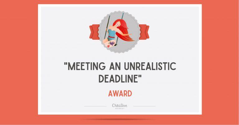 meeting deadlines