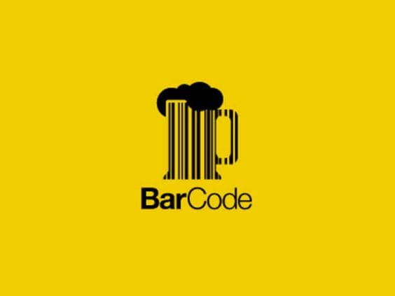 bar-code-minimal-logo-black-yellow