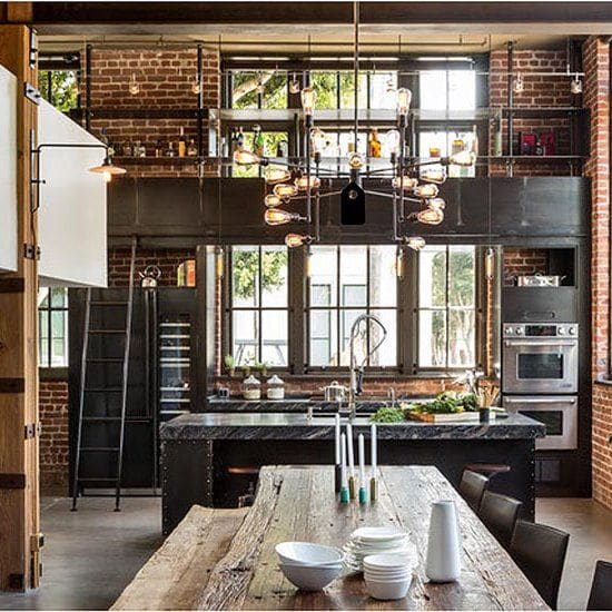 Interior design inspiration issue 15 for Industrial house plans