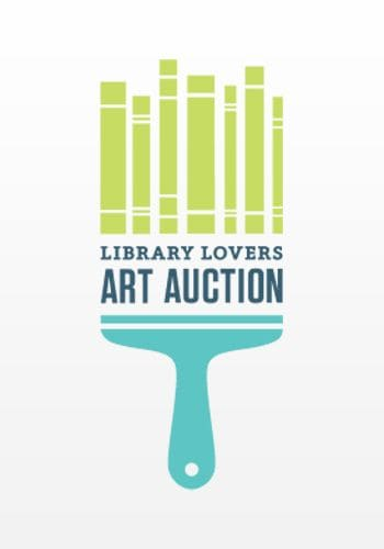 library auction logos cool lovers branding graphic brilliant paint things designs inspiration creative colors books designers makes viewer clever combination